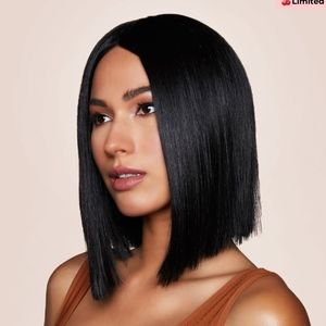 INH Hair Poppy Black Wig